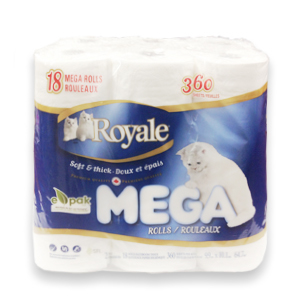 Royale Bathroom Tissue 18 Mega Rolls